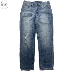 J. Crew Boyfriend Distressed Denim Jeans DH24